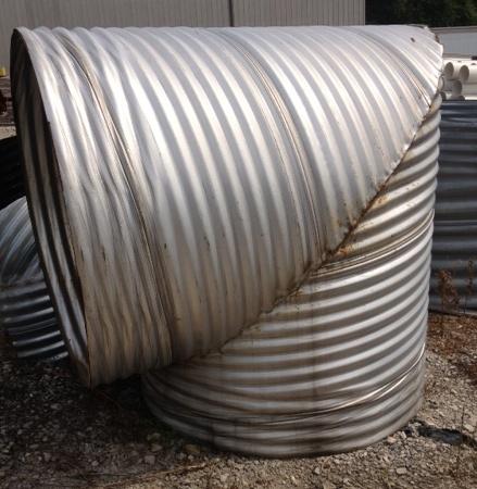 Metal Coupling Bands Corrugated Metal Pipe