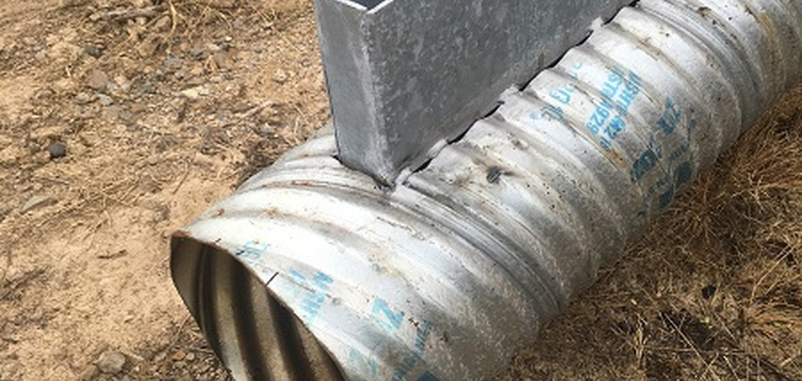 Slot Drain Metal Corrugated Metal Pipe