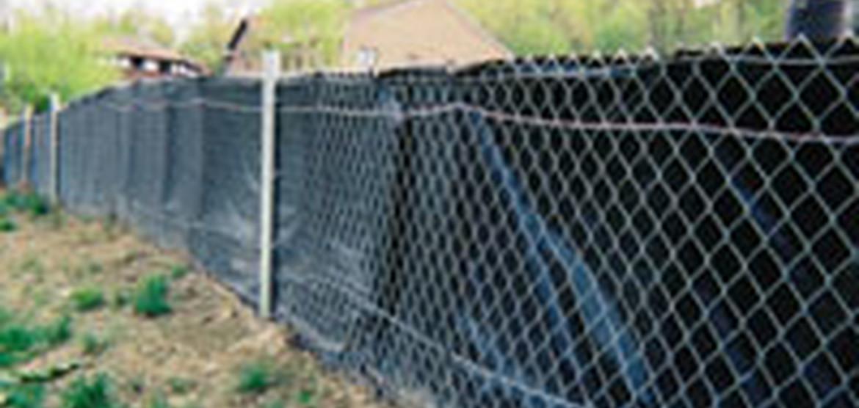 Super Silt Fence Erosion Control